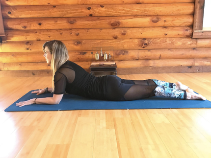 cooling  calming yin yoga sequence for summer