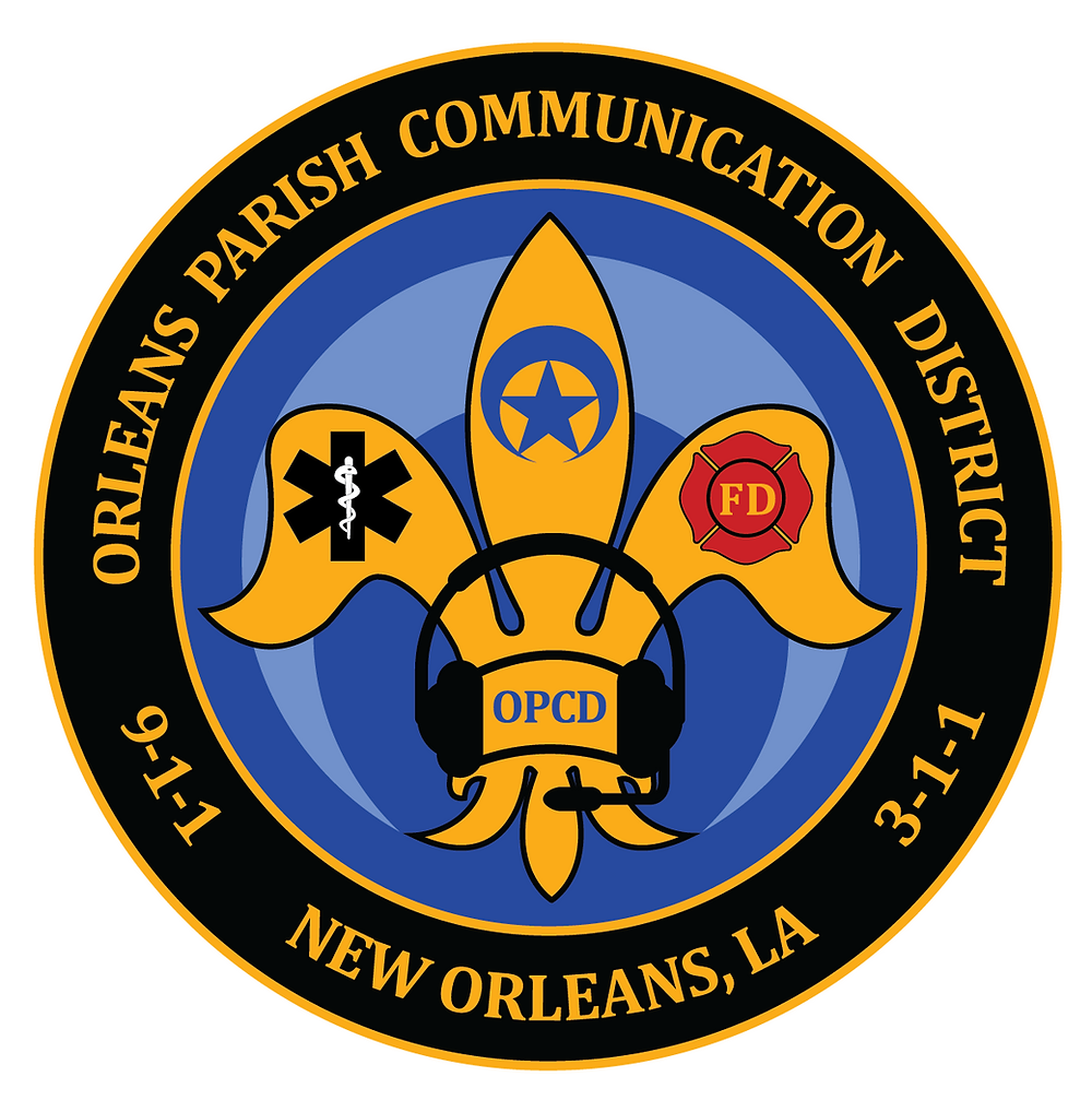 Orleans Parish Communication Logo