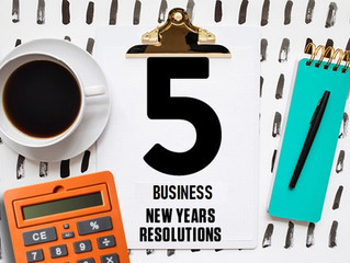 Five New Year's Resolutions for your Business