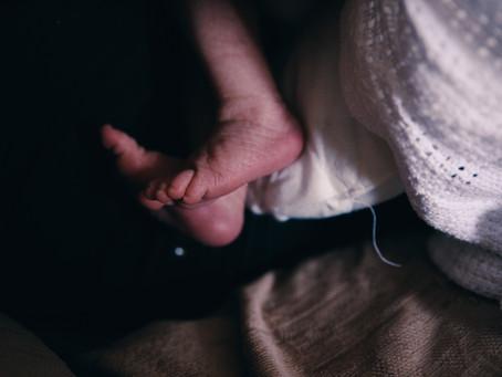 Jess - A Newborn Shoot at Home