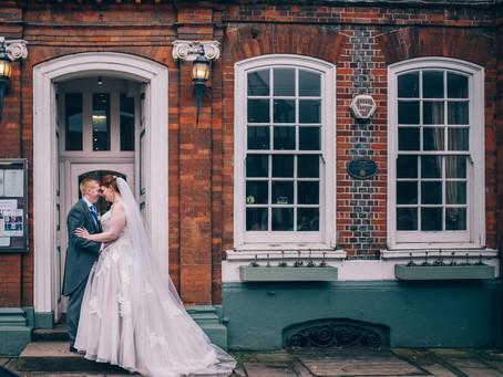 Sabrina & James - Wedding at Shabbington Church & The Spread Eagle Hotel, Thame