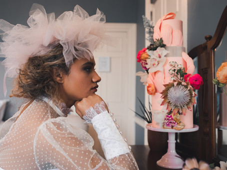 Plenty of Pink: A Contemporary Vintage Juxtaposition at Deer Park: Styled Shoot, Wedding Inspiration