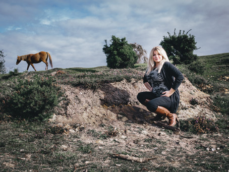 Maternity shoot in the New Forest