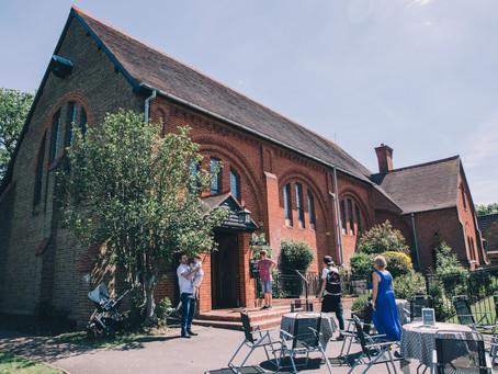 Graysons' Christening in Woking