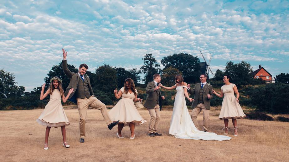 Reigate Heath Golf Club Summer Wedding