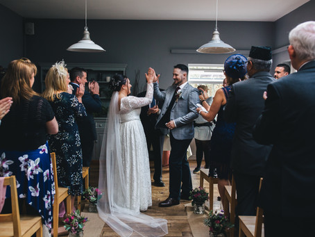 Jenny + Aaron: A Relaxed October Wedding in Devon