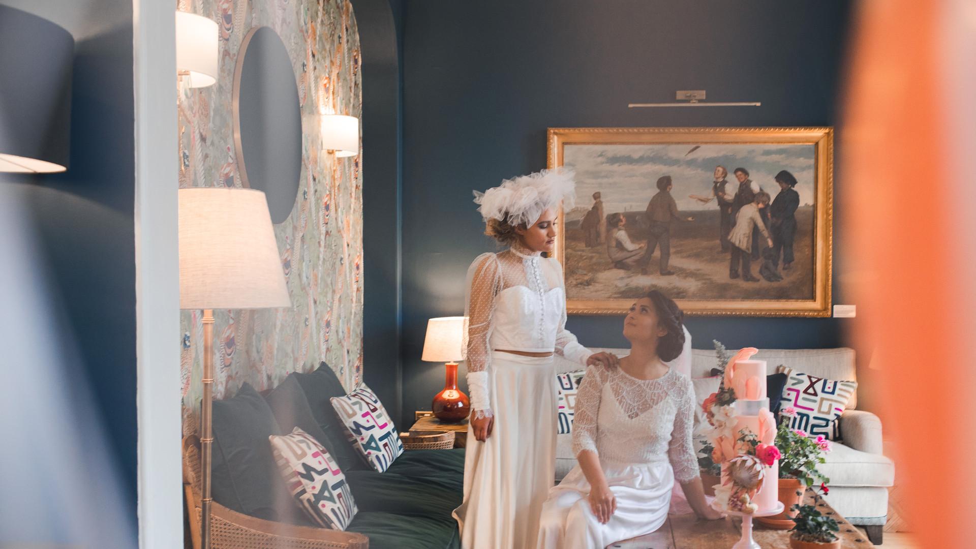 Modern Contemporary Vintage Wedding at Deer Park Hotel, Honiton, Devon