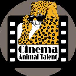 Cinema Animal Talent Logo