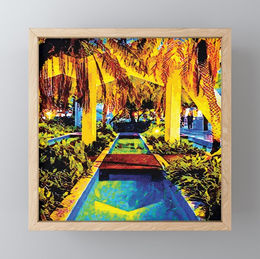 miami-palm-boulevard-framed-mini-art-pri