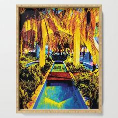 Miami Palm Serving Tray