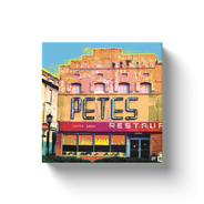 Pete's Restaurant Vintage 12x12