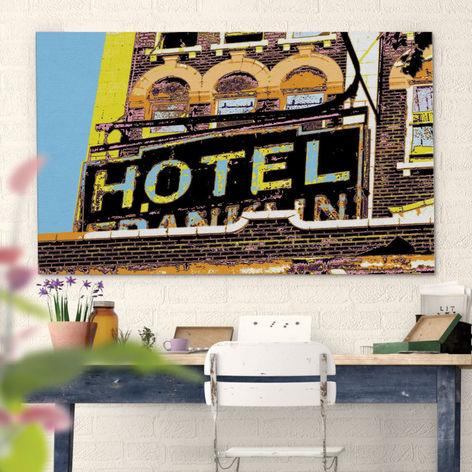 Canvas 32x48 HOTEL Franklin