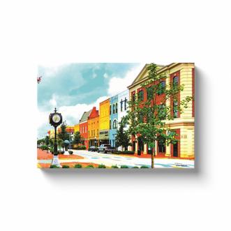 East Main Street Canvas
