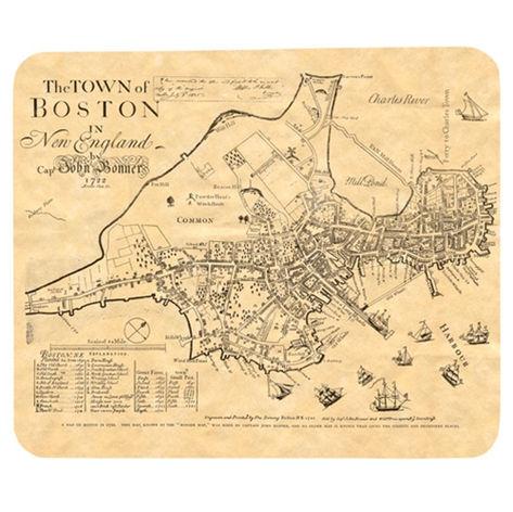 Boston Map Mousepad