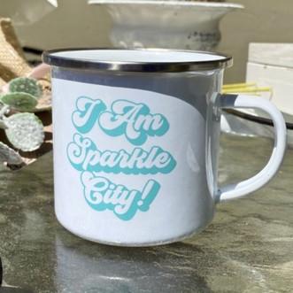 I Am Sparkle City! Camp Mug
