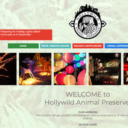 Hollywild Animal Preserve Website