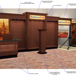 Kiosk Concept Design and Sign Placement Rebder