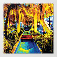 Miami Palm Canvas @ Society6