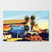 Surf Shop Canvas @ Society6