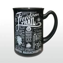 Chalkboard Freedom Trail Mug