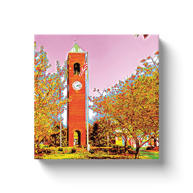 Canvas 12x12 Spartanburg Clock Tower