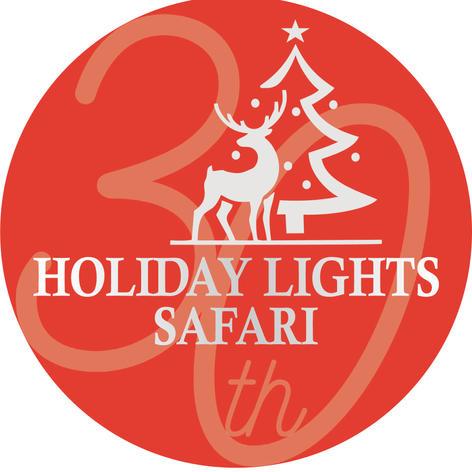 HLS 30TH Anniversary Safari Lights Logo.