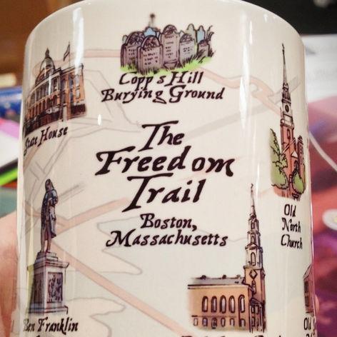 Freedom Trail Mug