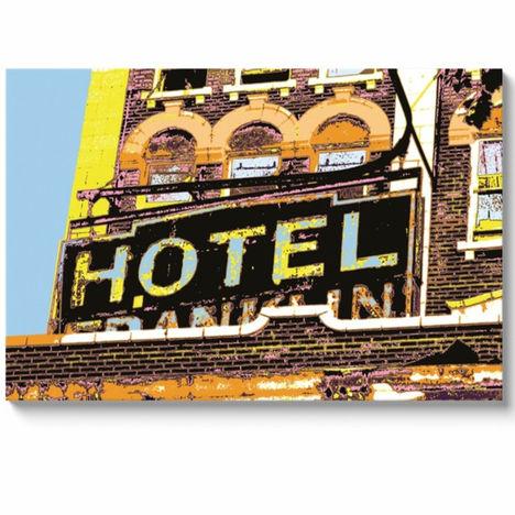 Hotel Franklin 32x48