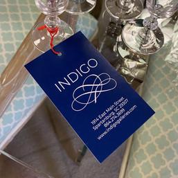 INDIGO Retail Hang Tag