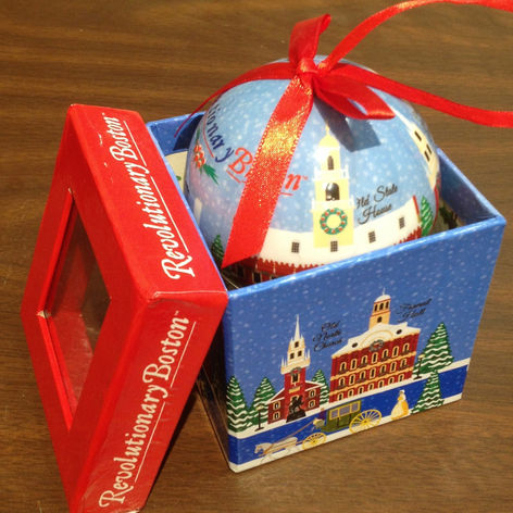 Holiday Ornament with Packaging
