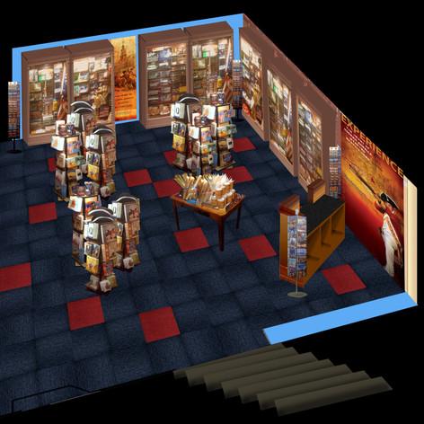 Concept Rendering Quincy Market Store