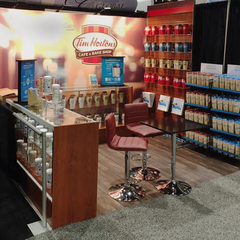 Tim Horton's Trade Show Booth Orlando