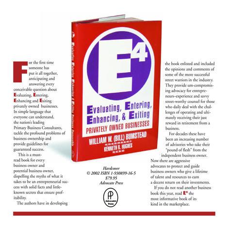 E4 Book Flyer