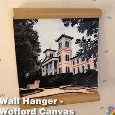 Wofford College Wall Hanger Print