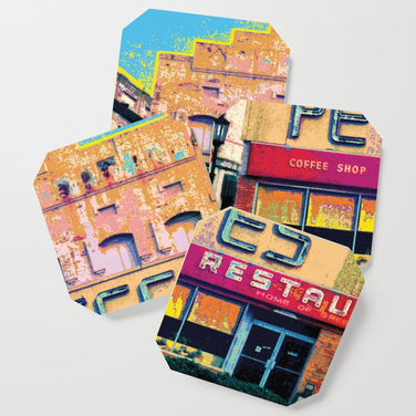Pete's Coaster Sets @ Society6.com