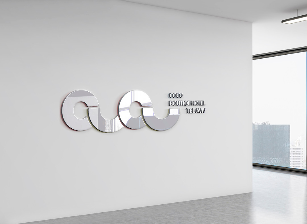 הדמיית לוגו מלון בוטיק קוקו / שקד
