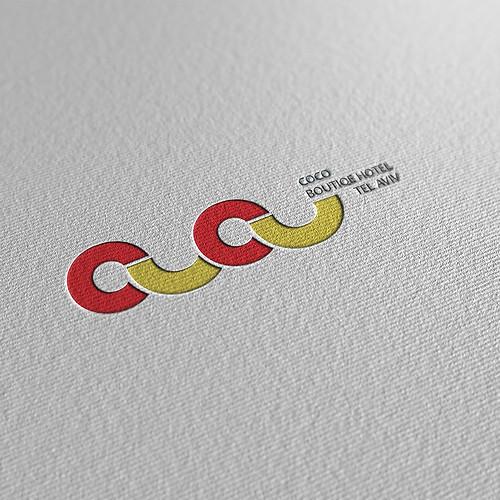 לוגו מלון בוטיק קוקו / שקד