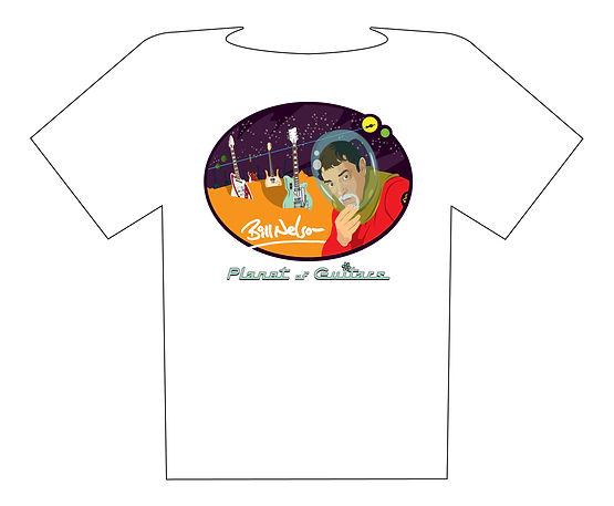 Bill Dreamsville tshirts planet of guita