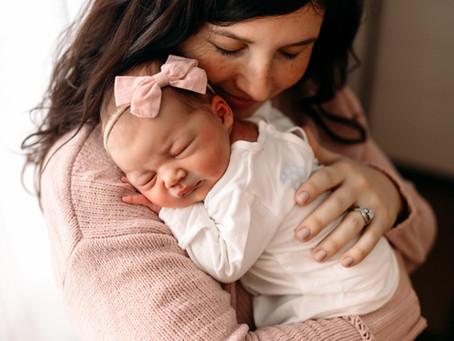 Sadie | Kalamazoo Newborn Session at Home Fresh 48