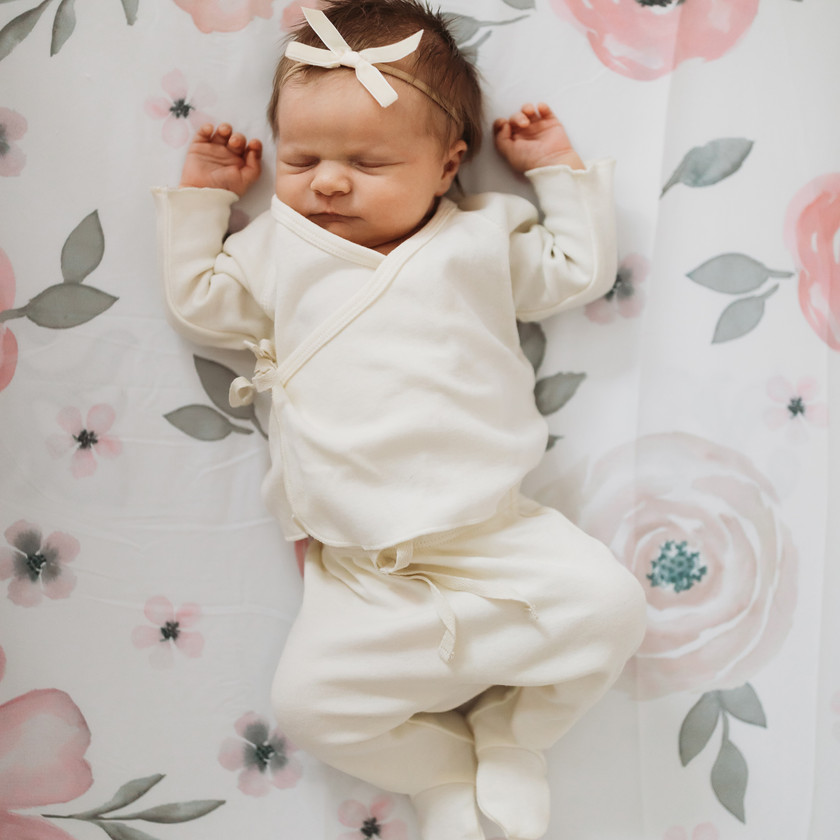 mattawan michigan in home newborn photo