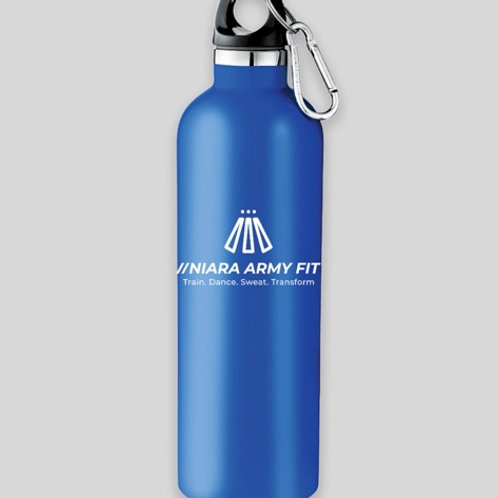 Icy Blue Insulated Water Bottle