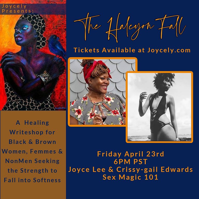The Halcyon Fall: Sex Magic 101 w/ Crissy-gail Edwards