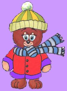 Cinnamon Bear is going to school