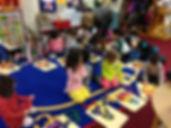 Children make cinnamon bear feltsongs stories
