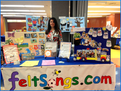 FeltSongs Stories Booth