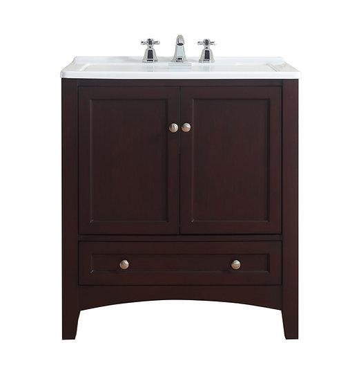 """30"""" Espresso Laundry Utility Sink"""
