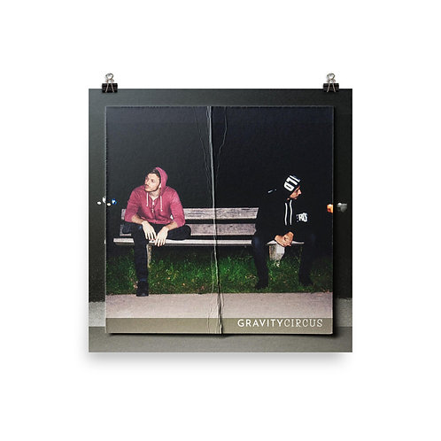 Alleyway Bench Poster