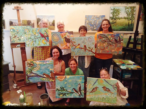 Private Art Party Sept 30th  Acrylic Class