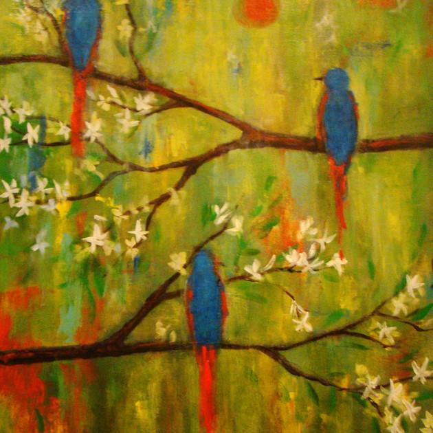 """ Bluebirds"""