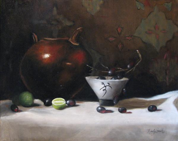 """ Copper and Bowl """
